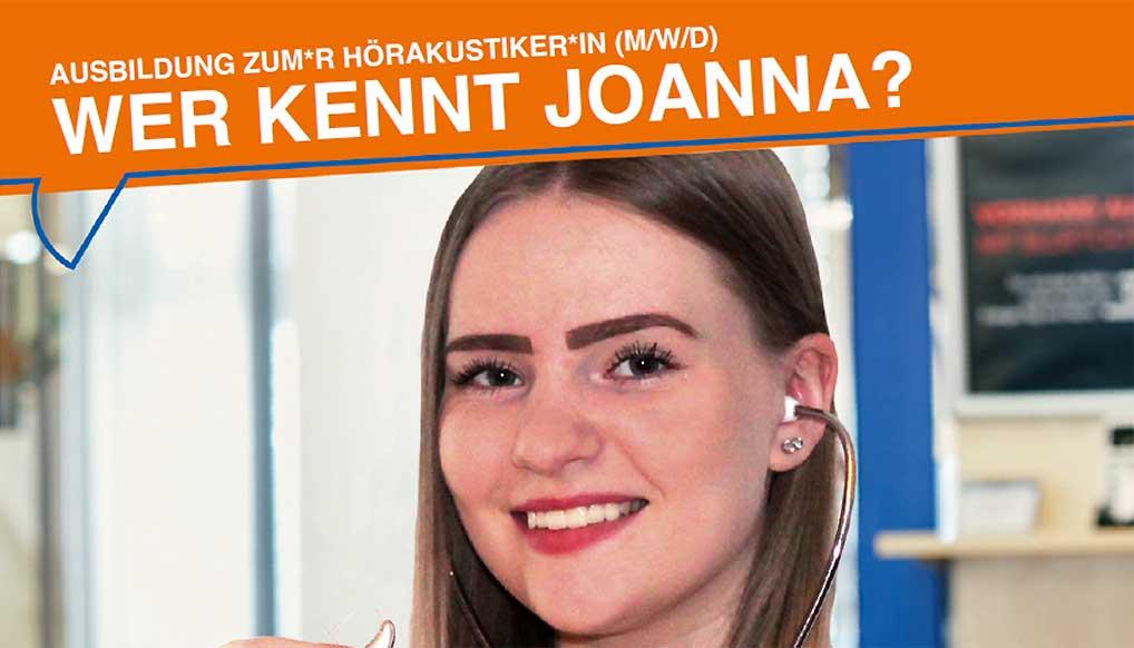 Wer kennt Johanna?